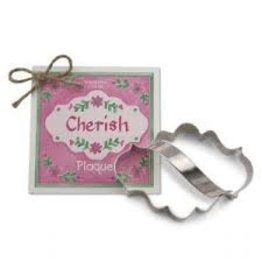 Ann Clark Cookie Cutter Plaque with Recipe Card, TRAD