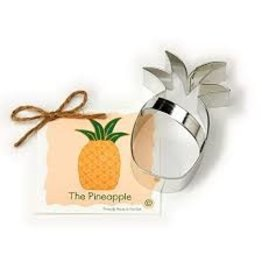 Ann Clark Cookie Cutter Pineapple with Recipe Card, TRAD