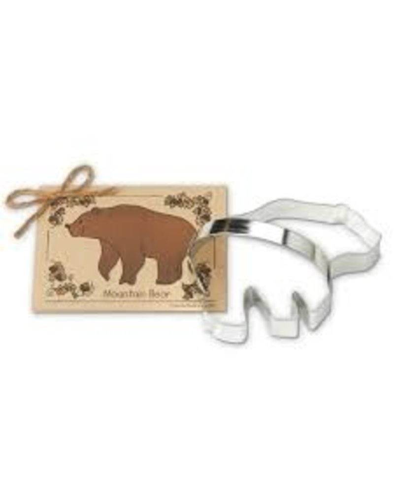 Ann Clark Cookie Cutter Mountain Bear with Recipe Card, TRAD