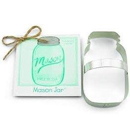 Ann Clark Cookie Cutter Mason Jar with Recipe Card, TRAD