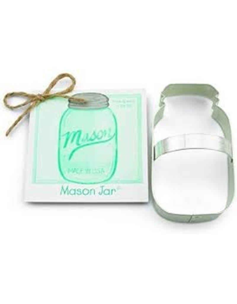 Ann Clark Cookie Cutter Mason Jar, TRAD