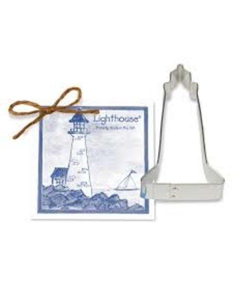 Ann Clark Cookie Cutter Lighthouse with Recipe Card, TRAD