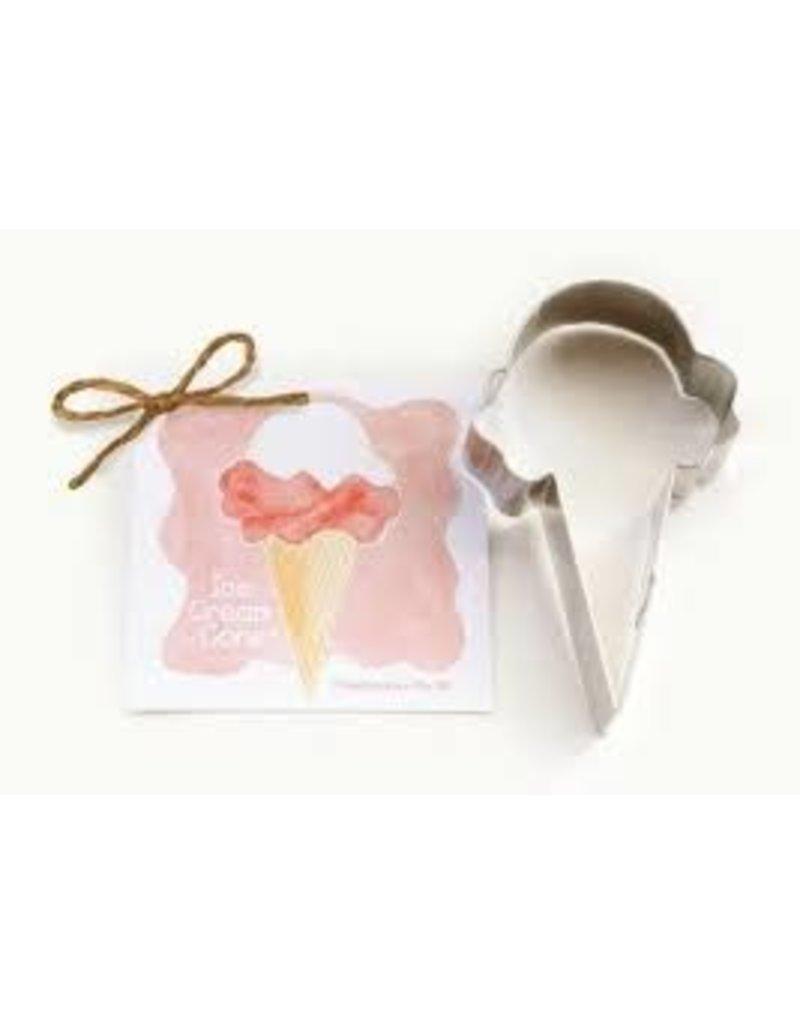 Ann Clark Cookie Cutter Ice Cream Cone with Recipe Card, TRAD