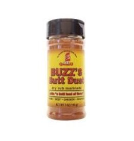 Buzz's Butt Dust Dry Rub Seasoning 7oz