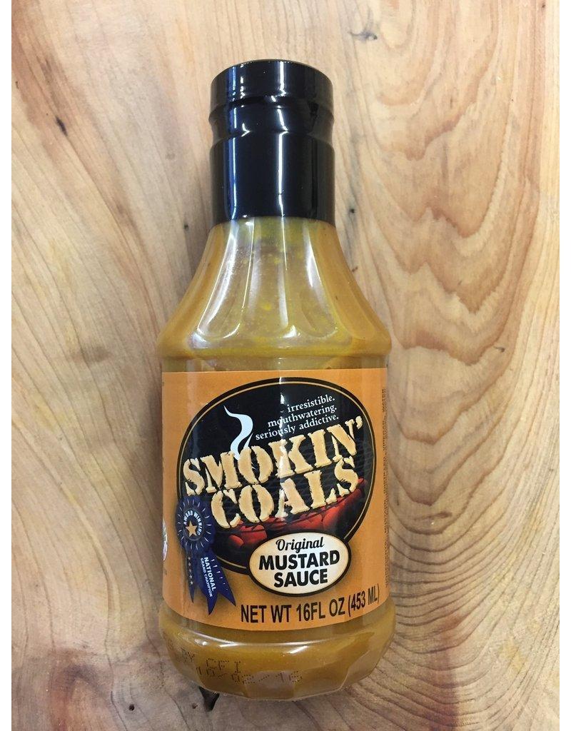 Smokin' Coals Smokin' Coals Mustard Sauce 16oz