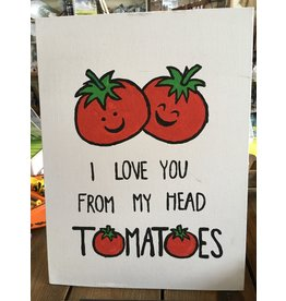 Head Tomatoes Painting