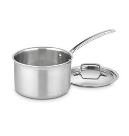 Cuisinart Multiclad Pro 3-Ply Stainless 3qt Sauce Pan with Lid