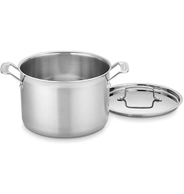 Cuisinart Multiclad Pro 3-Ply  Stainless 8qt Stockpot with Lid