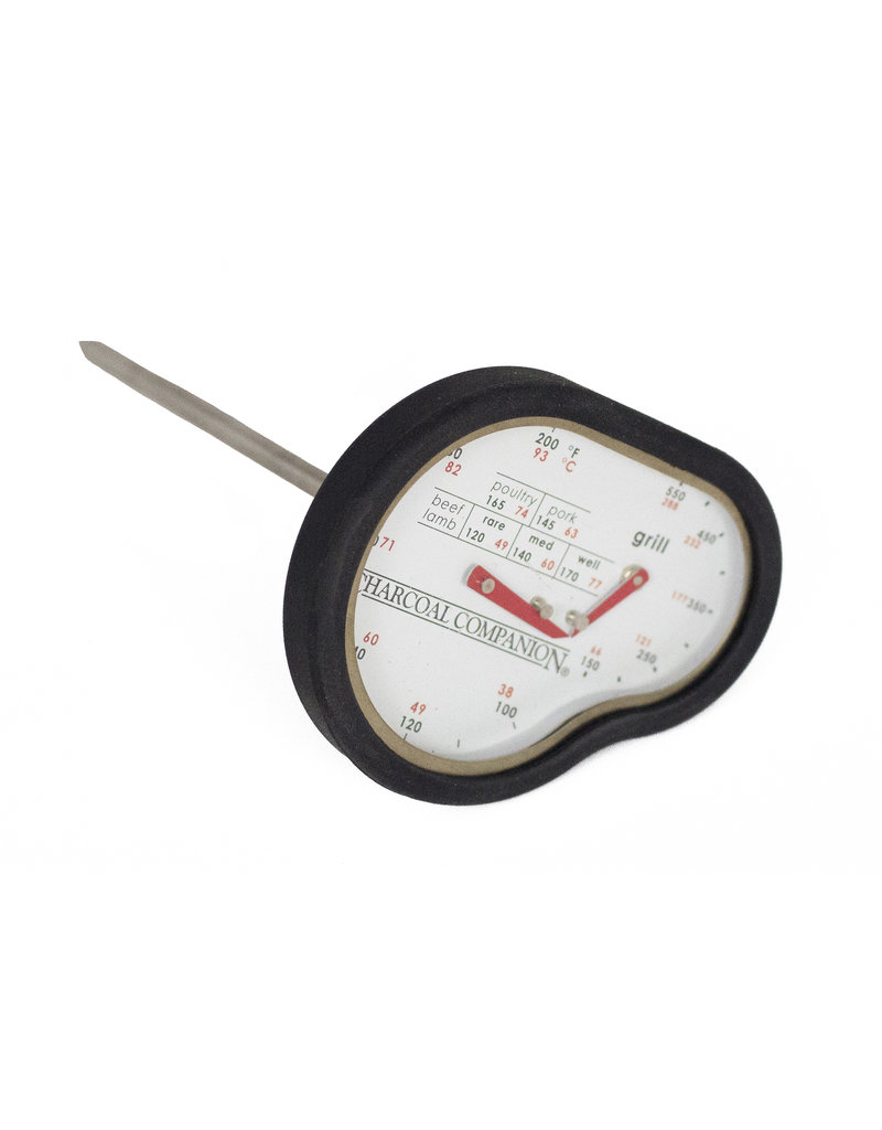 Charcoal Companion Dual Temperature Thermometer-meat,grill