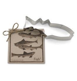 Ann Clark Cookie Cutter Fish with Recipe Card, TRAD