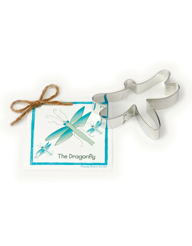 Ann Clark Cookie Cutter Dragonfly with Recipe Card, TRAD