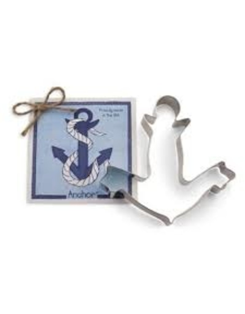 Ann Clark Cookie Cutter Anchor with Recipe Card, TRAD