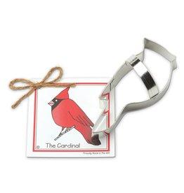 Ann Clark Cookie Cutter Cardinal with Recipe Card, TRAD