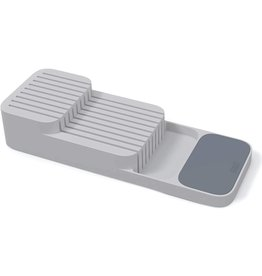 Joseph Joseph DrawerStore Kitchen Drawer Organizer Tray for Knives, Gray