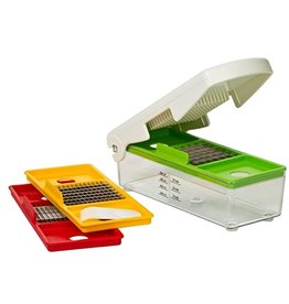 Progressive Prepworks Alligator Fruit/Vegetable Dicer & Chopper, 3Cups