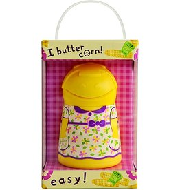 Talisman Butter Girl Butter Keeper & Spreader, Yellow