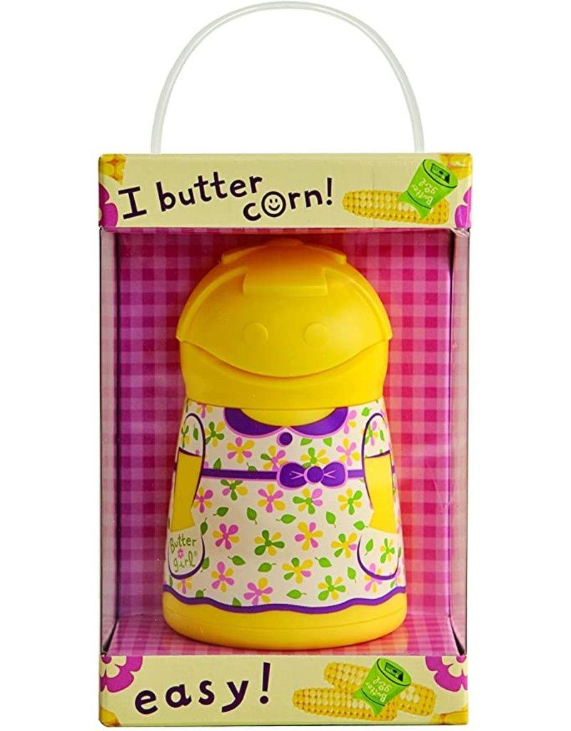 Talisman Butter Girl Butter Keeper & Spreader, Yellow disc