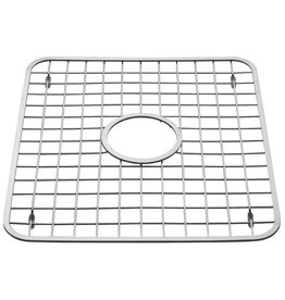Gia Sink Grid Regular with Hole, Stainless 12.75x11
