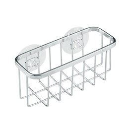 Gia Suction Sink Sponge Holder, Stainless