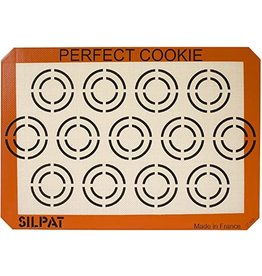 Silpat SILPAT Silicone Perfect Cookie Baking Mat - Half Sheet 11.5x16.5 ciw