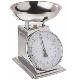 Taylor TAYLR 11lb Stainless Steel Analog Kitchen Scale