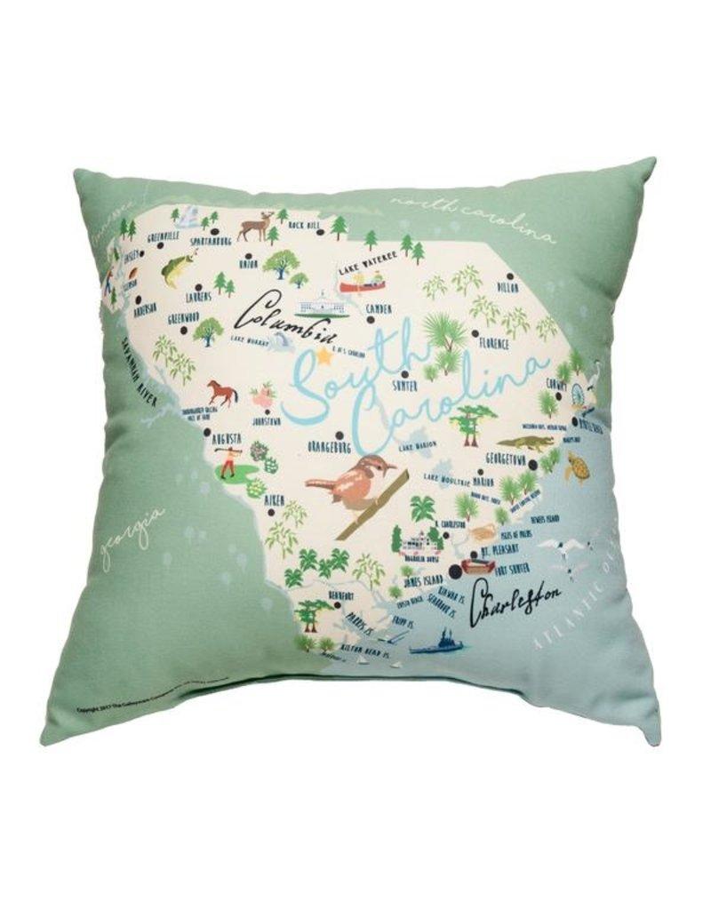 GalleyWare Pillow, SC Map