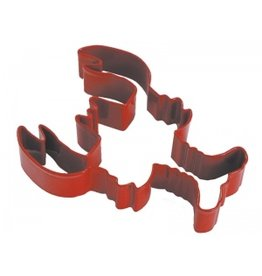 Lobster Cookie Cutter, red polyresin coated rm