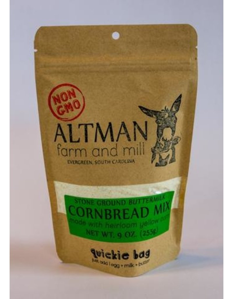 Altman Farm Stone Ground Cornbread Mix 9oz