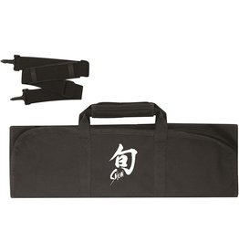Shun Shun Knife Roll Bag-8 Slot, Black&White
