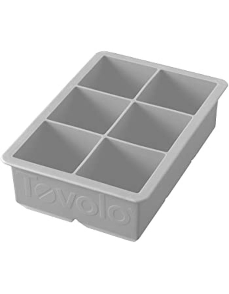 Tovolo King Ice Cube, Oyster Gray cirr