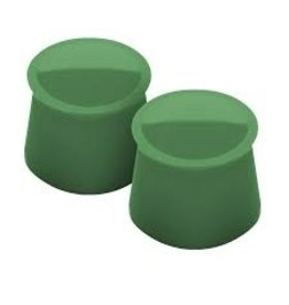 Tovolo Silicone Wine Caps Set of 2, Pesto Green
