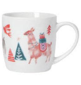 Now Designs Holiday Mug, Happy Llamadays