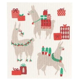 Now Designs Swedish Holiday Dish FaLaLaLa Llama now