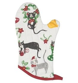 Now Designs Holiday  Mitt, Meowy Christmas