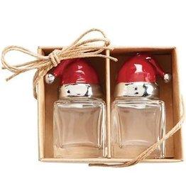 Mudpie Holiday St Nick Santa Salt & Pepper Set