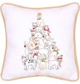C and F Home Holiday Pillow Cat Tree