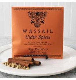 Oliver Pluff Holiday Cider Spices Wassail 1.5oz
