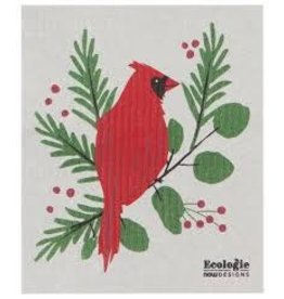 Now Designs Swedish Holiday Dish Forest Cardinals now
