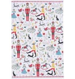Now Designs Holiday Dish towel Nutcracker