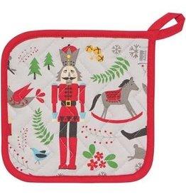 Now Designs Holiday  Potholder, Nutcracker