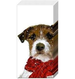Boston International Holiday Pocket Tissues,  Archie Dog