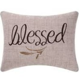 C and F Home Fall Pillow Blessed