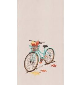 C and F Home Fall Dish Towel Bike