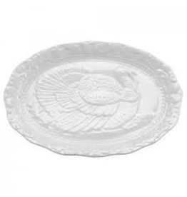 Harold Imports Porcelain Fall Turkey Platter