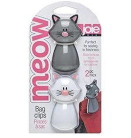 Harold Imports Meow Bag Clips