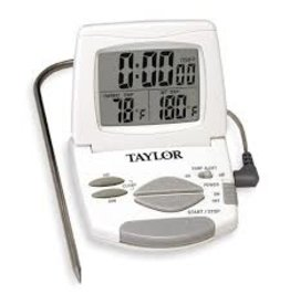 Taylor TAYLR Digital Probe Thermometer/Timer