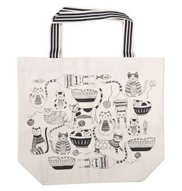 Now Designs Bag Tote, Cat Purr Party