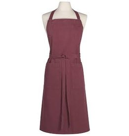 Now Designs Apron Stonewash Heirloom Wine