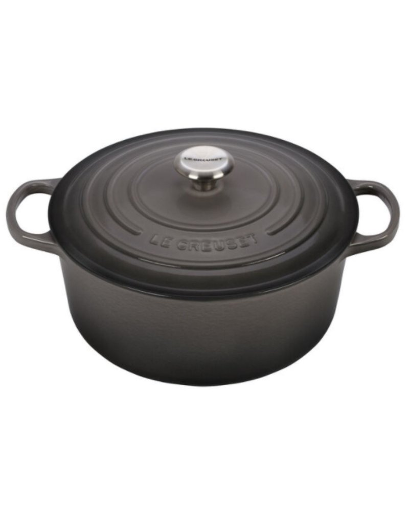 Le Creuset Enameled Cast Iron Signature Round Dutch Oven 6.75qt Oyster ciw