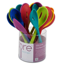 Core Home Silicone Slotted Spoon/18